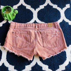 RVCA jean shorts